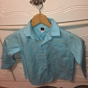 🐳Janie and Jack GUC size2T boys button down shirt